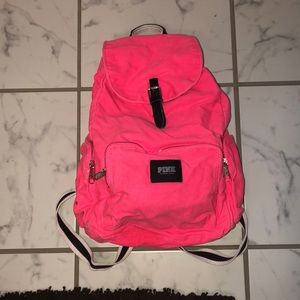 Medium size PINK backpack